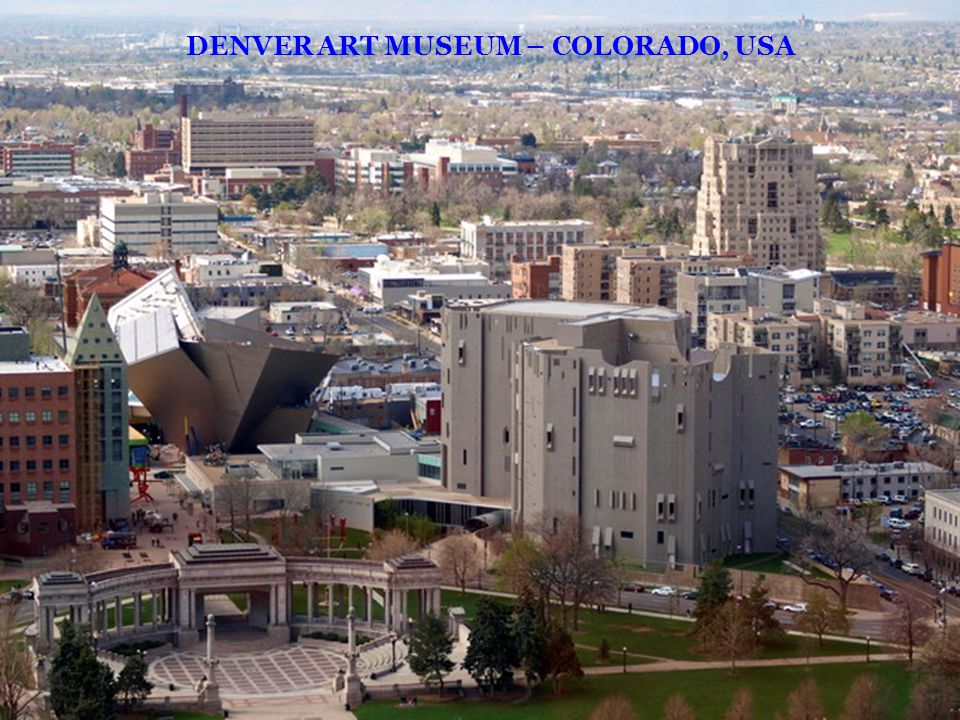 DENVER ART MUSEUM – COLORADO, USA