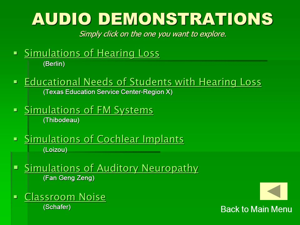 This CD ROM contains three sets of Resources:  Audio Demonstrations Audio Demonstrations Audio Demonstrations  Assessment Inventories Assessment Inv