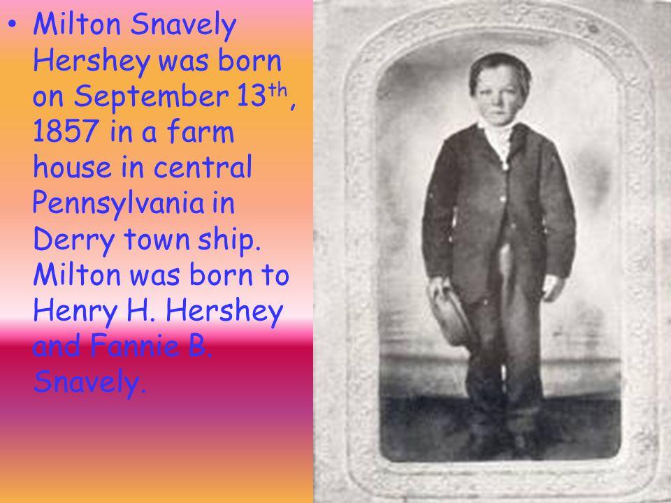 Milton.S. Hershey By: Jaelyn Hoppman