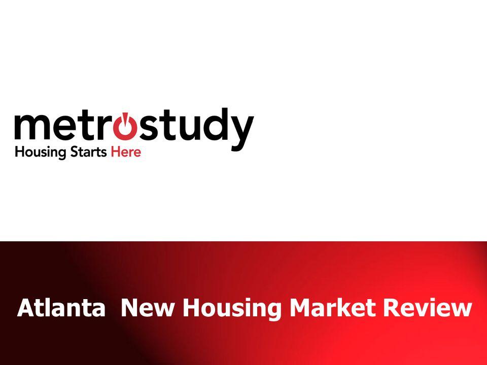 Atlanta New Housing Market Review