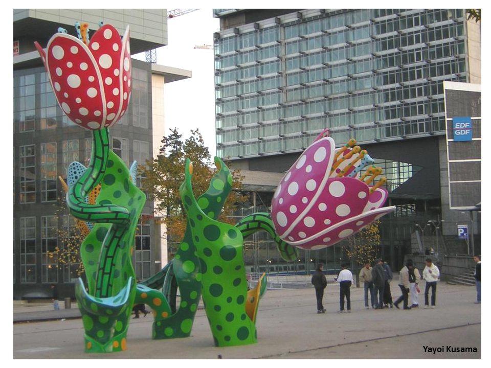 פסלים בצבע Colorful sculptures 4 ש.ב.