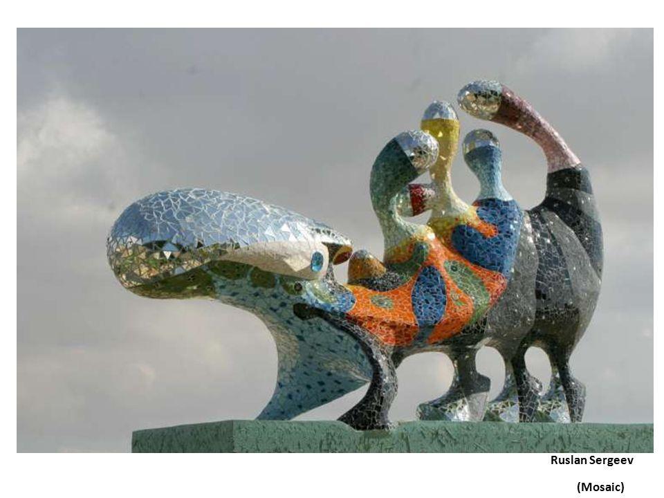Niki de Saint Phalle mosaic