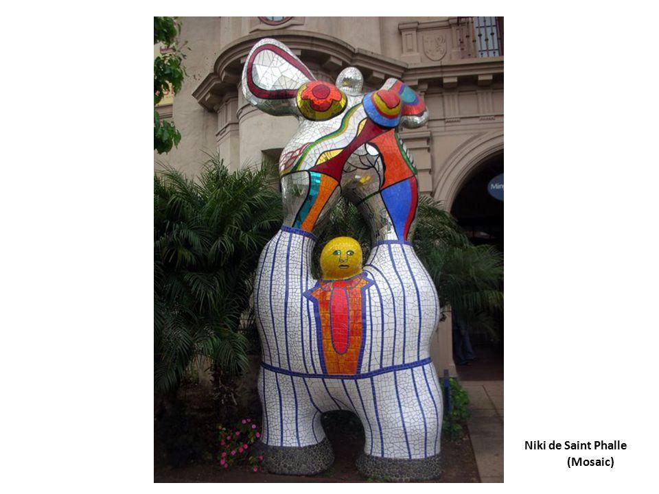 Niki de Saint Phalle(Mosaic)
