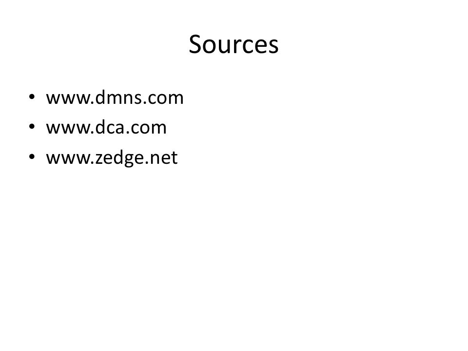 Sources www.dmns.com www.dca.com www.zedge.net