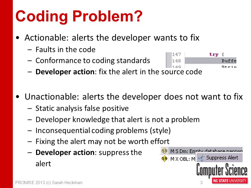 Coding Problem.