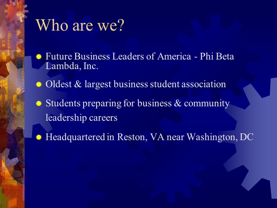 America Phi Beta Lambda Future Business Leaders of America Phi Beta Lambda Soaring to New Heights