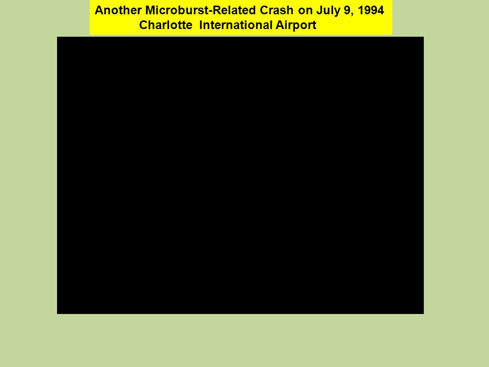 Another Microburst-Related Crash on July 9, 1994 Charlotte International Airport