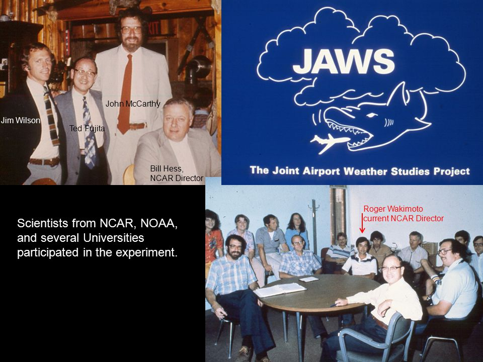 Planning by NCAR scientists and Fujita for another wind shear experiment in Denver began in 1980. John McCarthy (NCAR) lobbied the FAA heavily to get