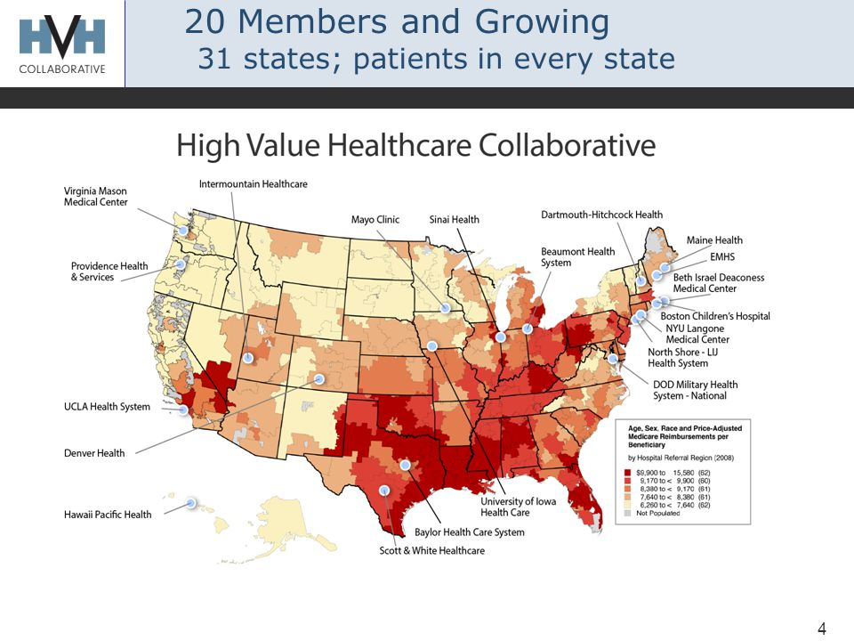 4 20 Members and Growing 31 states; patients in every state