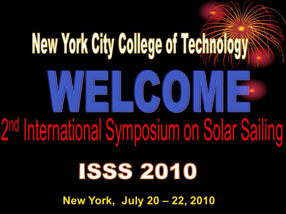 New York, July 20 – 22, 2010