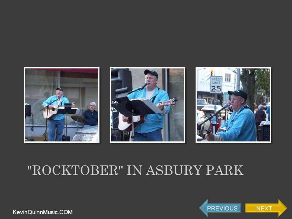 ROCKTOBER IN ASBURY PARK KevinQuinnMusic.COM