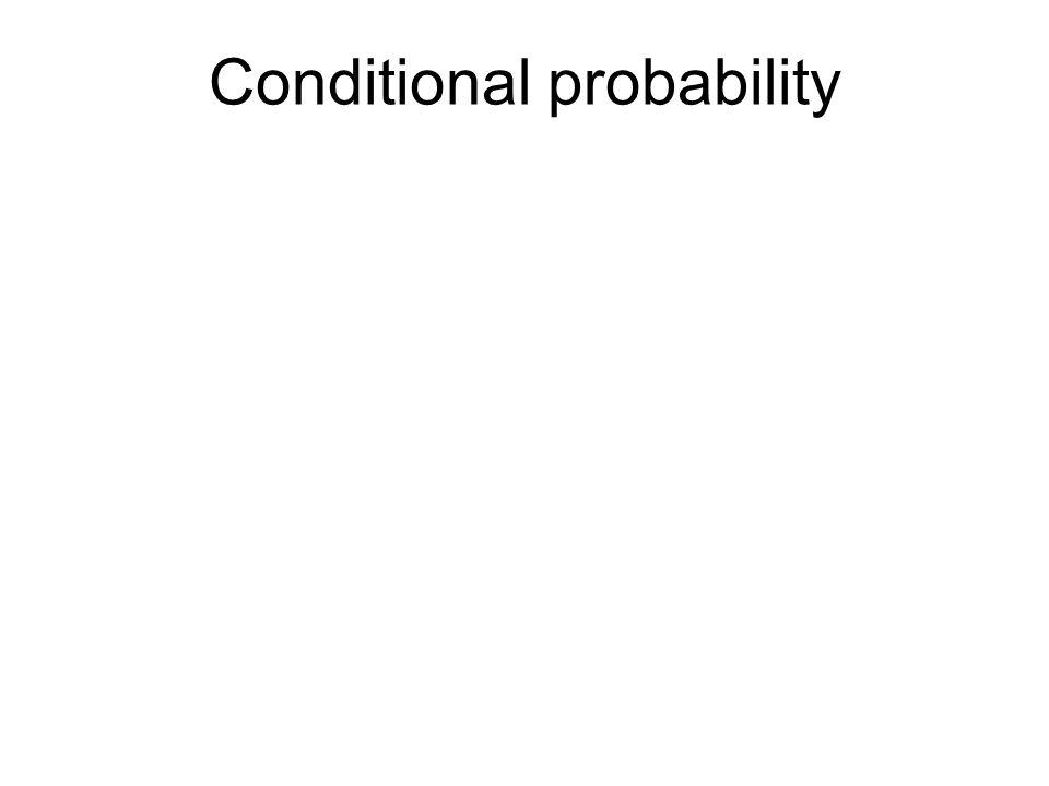 For any two events A and B, P(A)P(B) P(A  B)