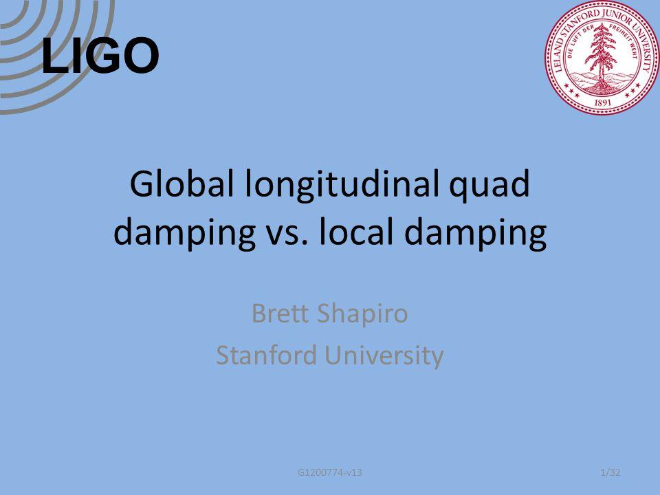 Summary Background: local vs.