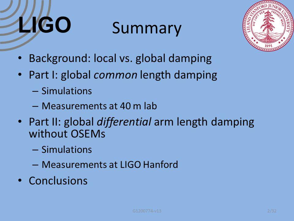 Backups G1200774-v1333 LIGO
