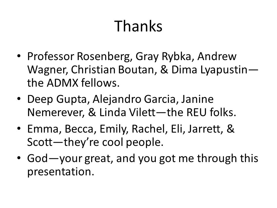 Thanks Professor Rosenberg, Gray Rybka, Andrew Wagner, Christian Boutan, & Dima Lyapustin— the ADMX fellows.