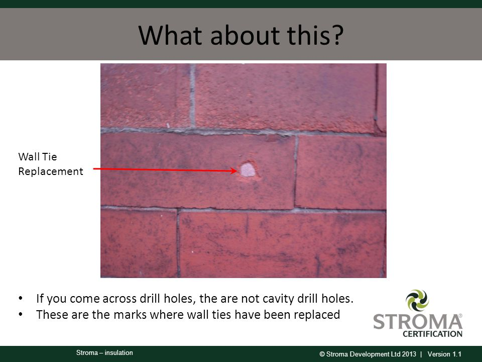 © Stroma Development Ltd 2013 | Version 1.1 Stroma – insulation What about this.