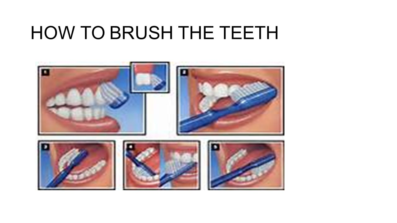 2. Brush the tongue after brushing