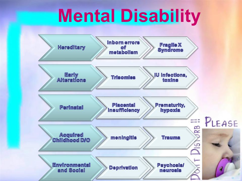 Mental Disability