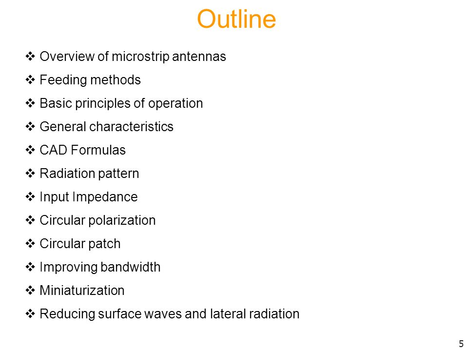 Reducing surface-wave excitation and lateral radiation reduces edge diffraction.