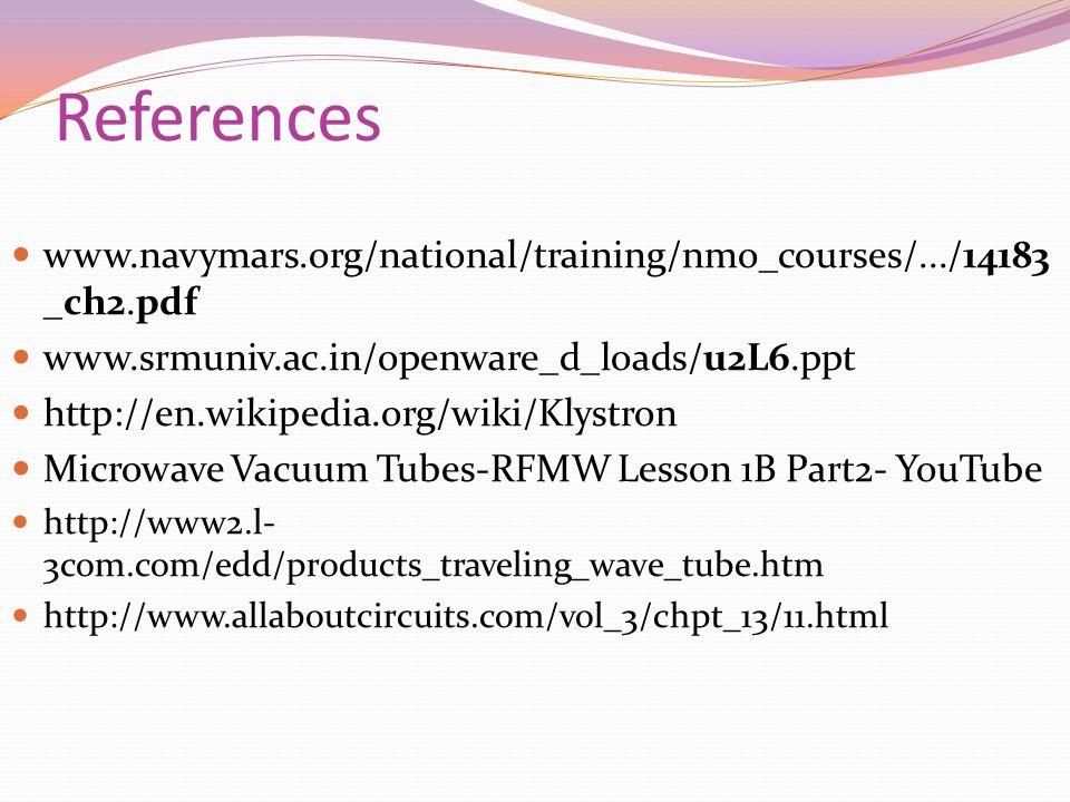 References www.navymars.org/national/training/nmo_courses/.../14183 _ch2.pdf www.srmuniv.ac.in/openware_d_loads/u2L6.ppt http://en.wikipedia.org/wiki/
