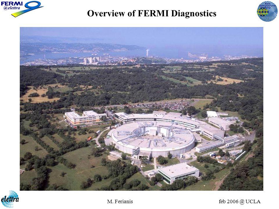 M. Ferianis feb 2006 @ UCLA Overview of FERMI Diagnostics