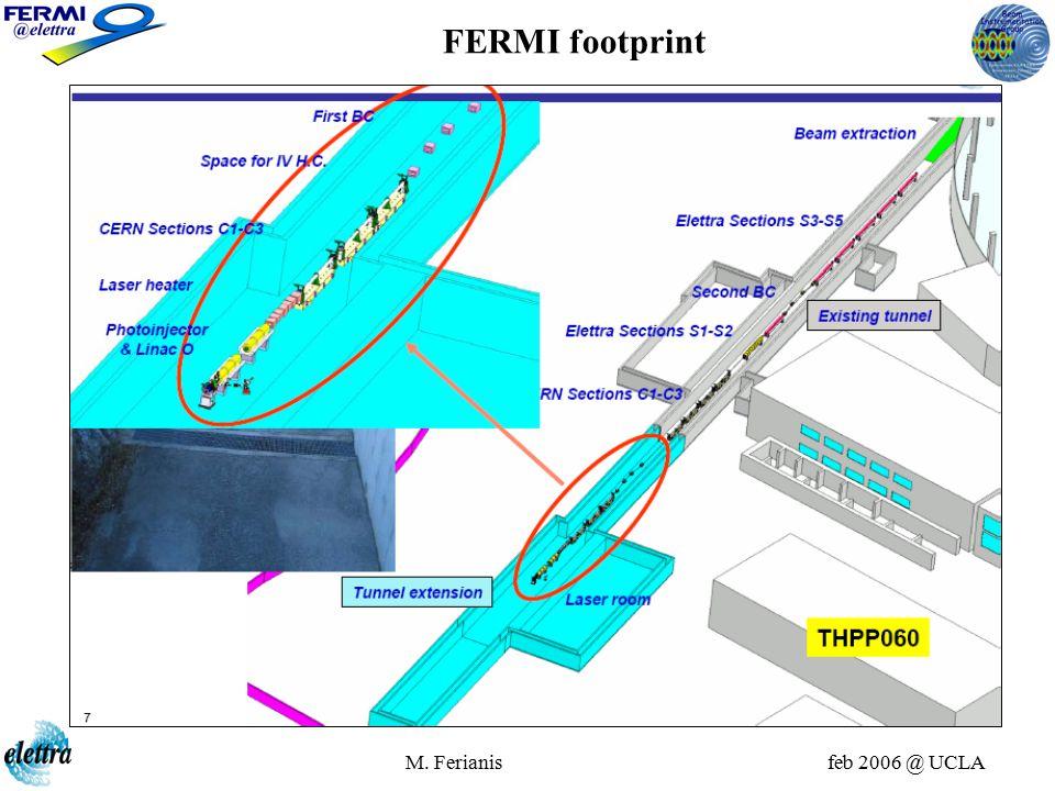M. Ferianis feb 2006 @ UCLA FERMI main parameters