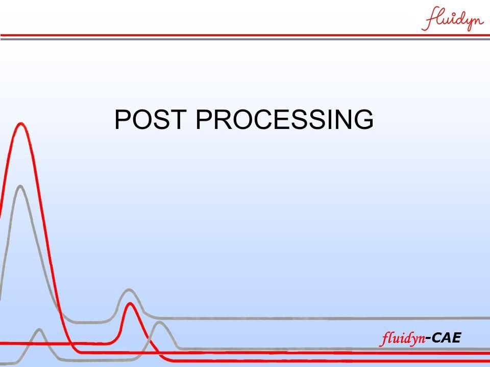 POST PROCESSING fluidyn -CAE