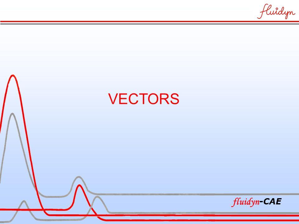 VECTORS fluidyn -CAE