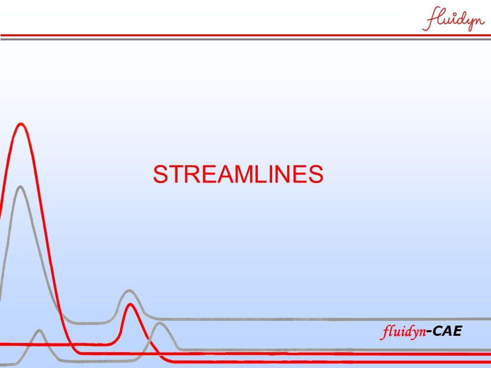 STREAMLINES fluidyn -CAE