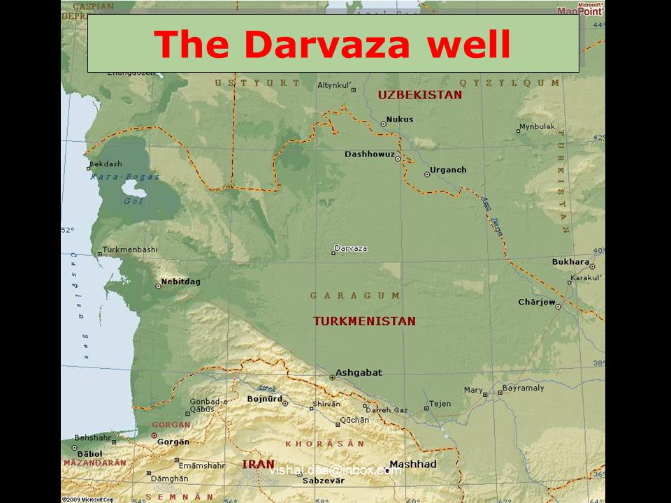 The Darvaza well vishal.das@inbox.com