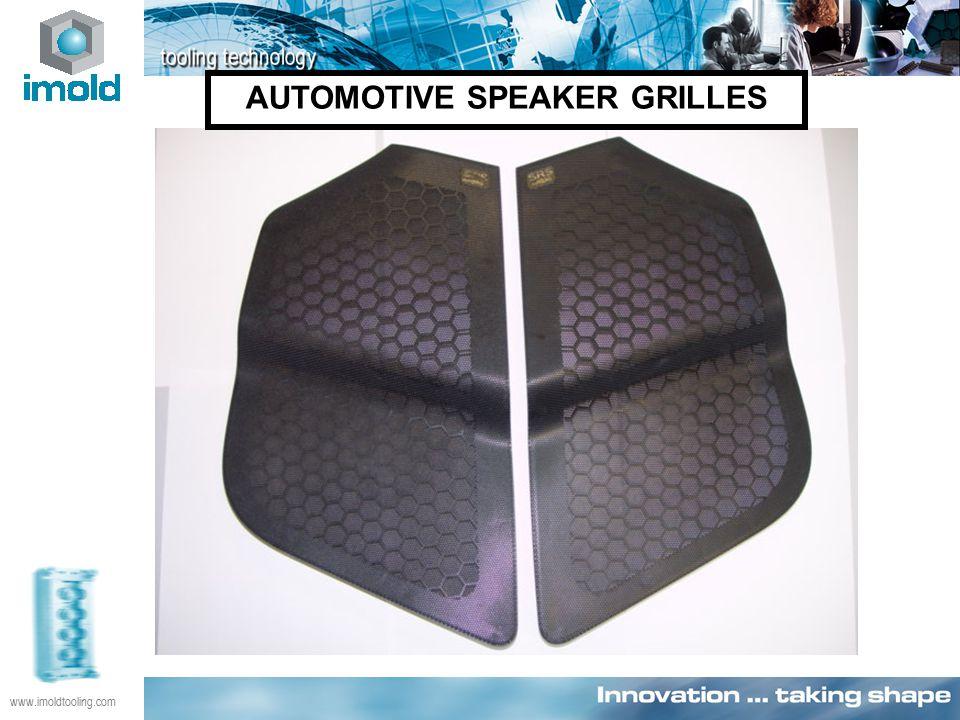 AUTOMOTIVE SPEAKER GRILLES