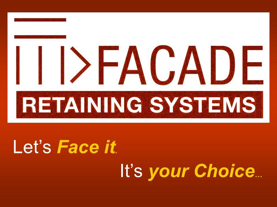 Let's Face it. It's your Choice …