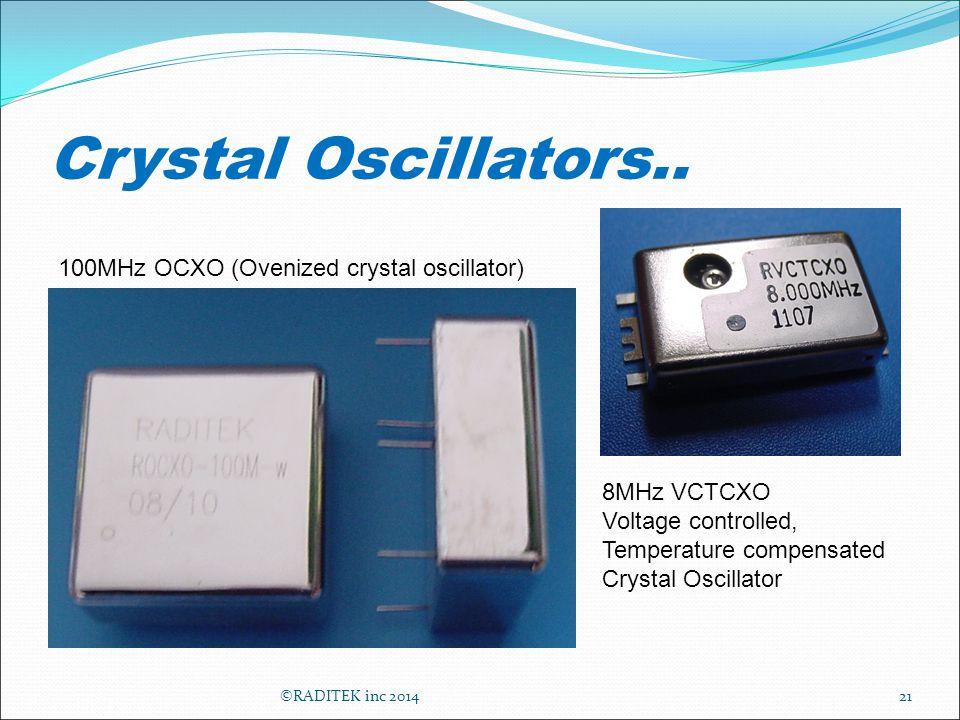 Crystal Oscillators..