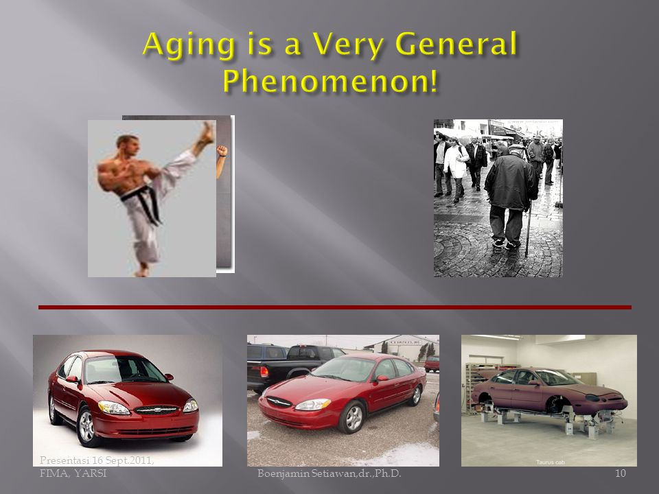 Healthy aging is an oxymoron like a healthy dying or a healthy disease  More accurate terms instead of healthy aging would be a delayed aging, postponed aging, slow aging, or negligible aging (senescence) Boenjamin Setiawan,dr.,Ph.D.