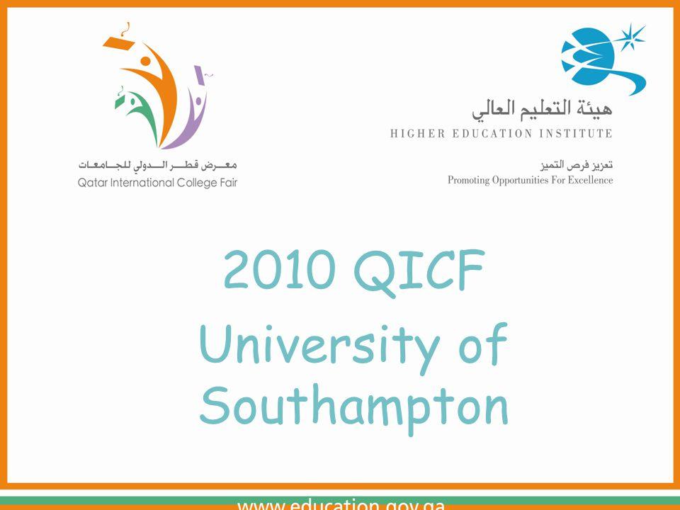 2010 QICF University of Southampton