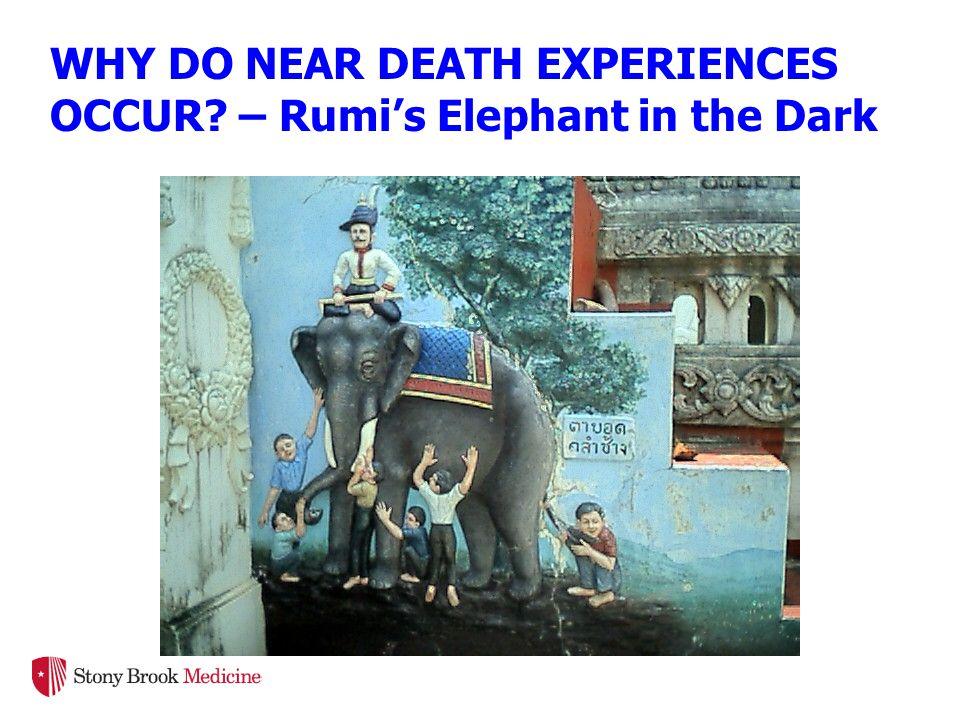 WHY DO NEAR DEATH EXPERIENCES OCCUR? – Rumi's Elephant in the Dark