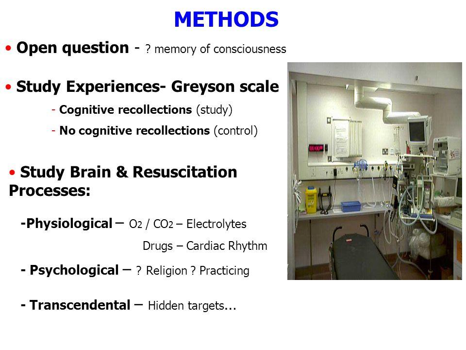 METHODS Open question - .