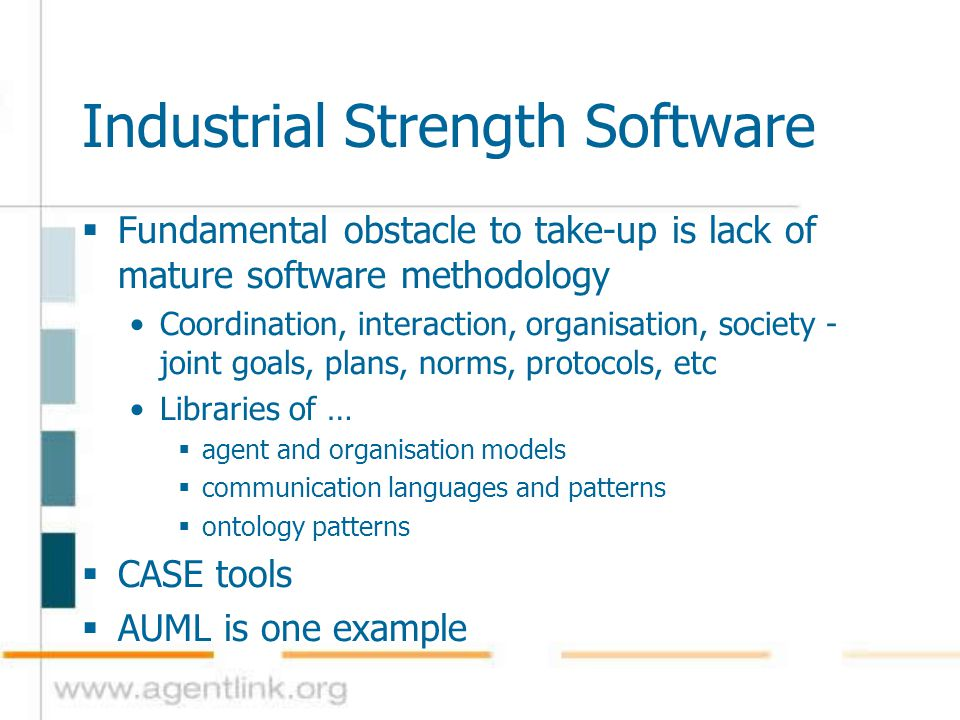 Industrial Strength Software