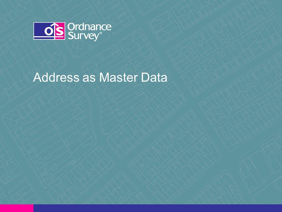 Address as Master Data