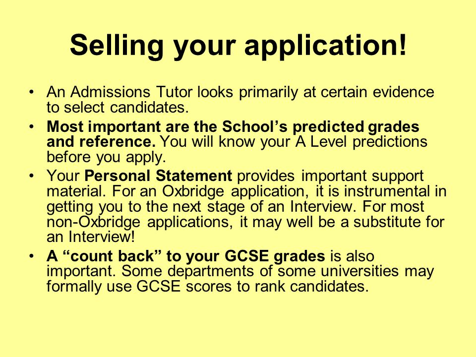 Selling your application.