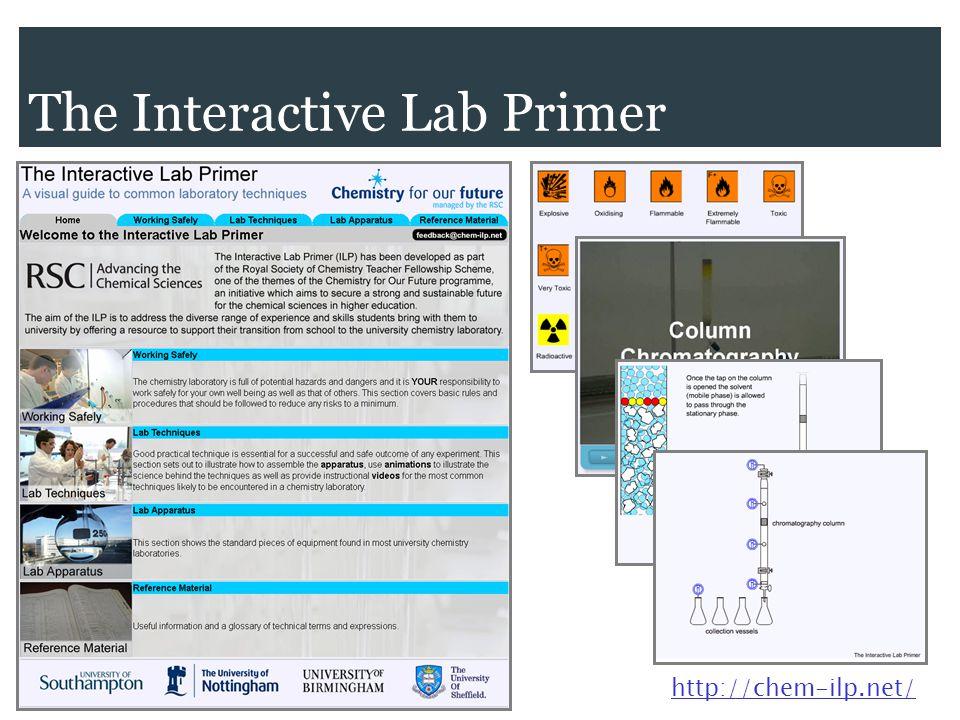 The Interactive Lab Primer http://chem-ilp.net/