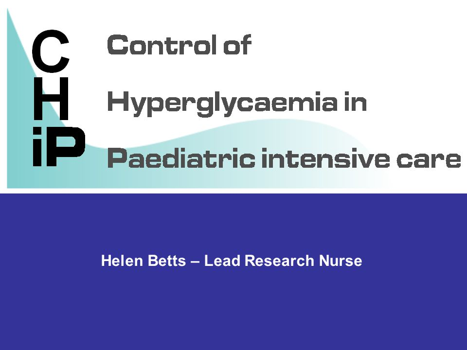 Helen Betts – Lead Research Nurse