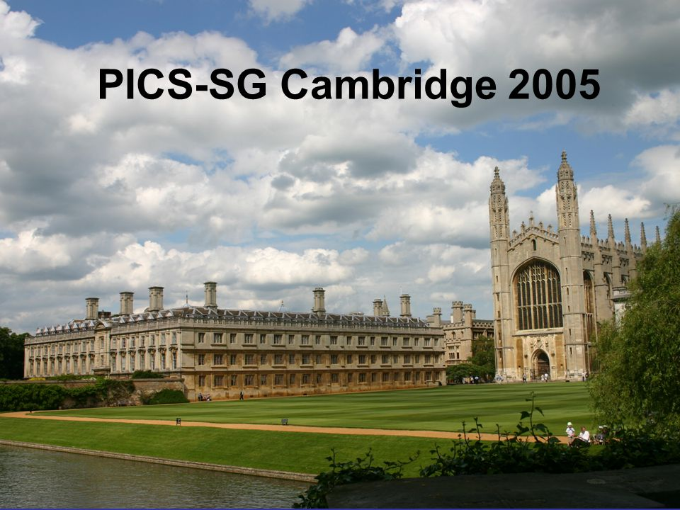 PICS-SG Cambridge 2005