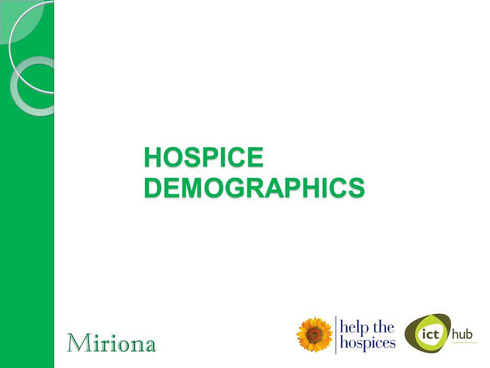 HOSPICE DEMOGRAPHICS