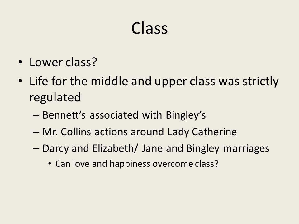 Class Lower class.