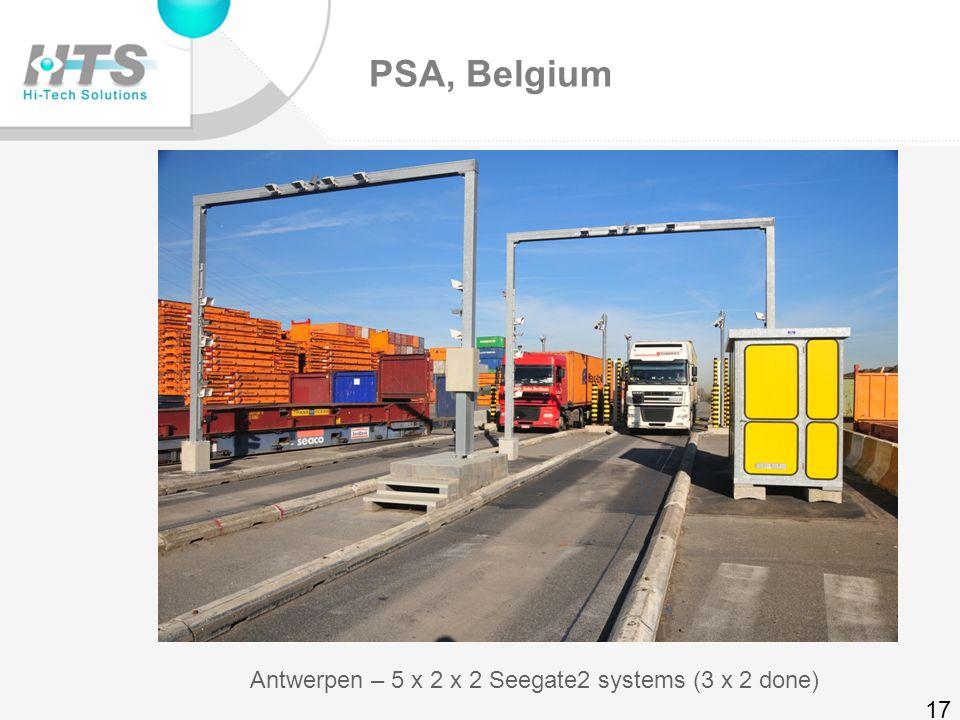 Euromax, Rotterdam Euromax– 4 lanes 16