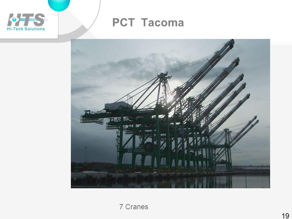 MTC – 7 terminals – 70 cranes ZPMC in WBCT B100 18