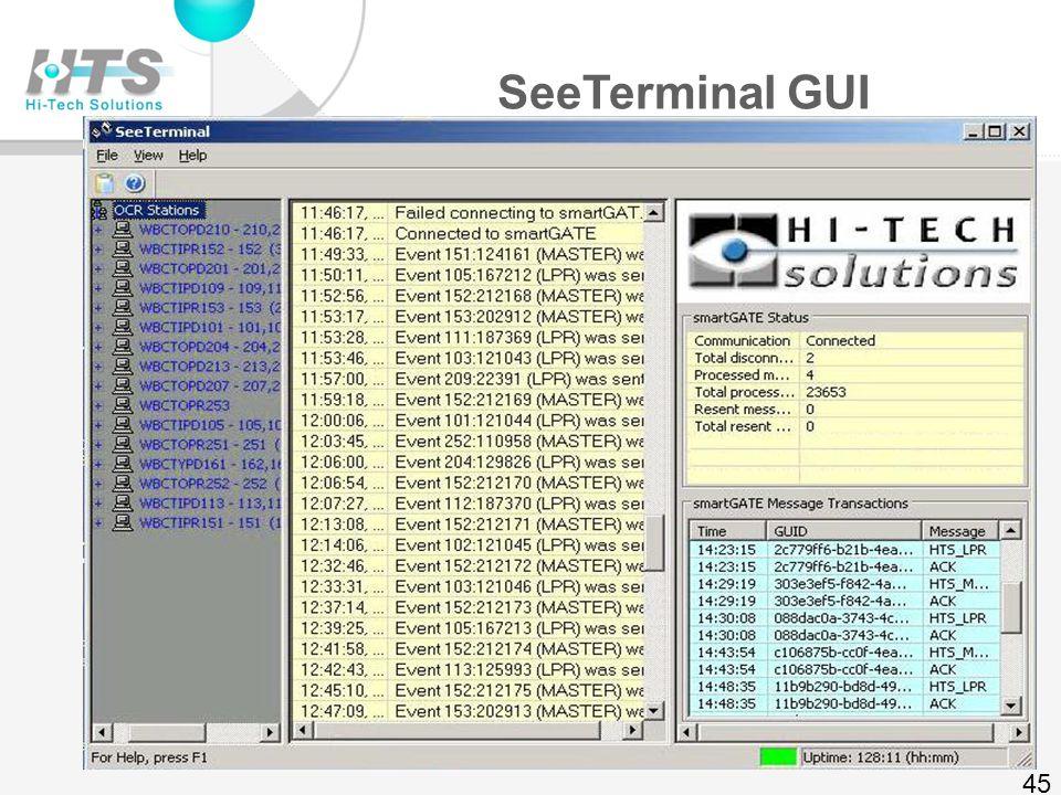 XML fields (lane PC) 44