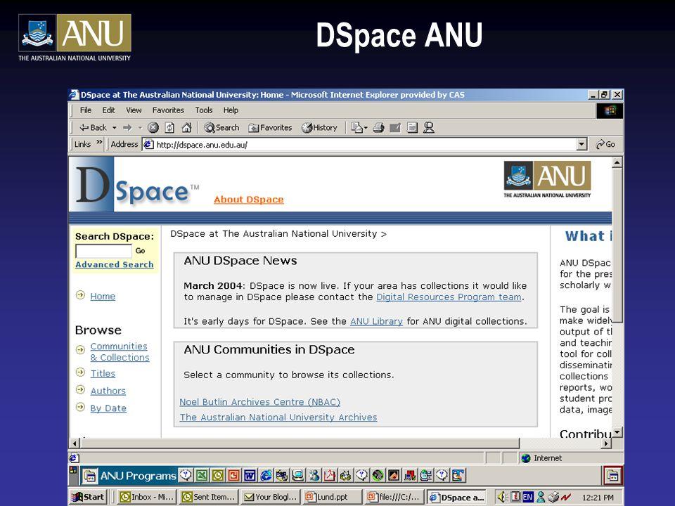 DSpace ANU