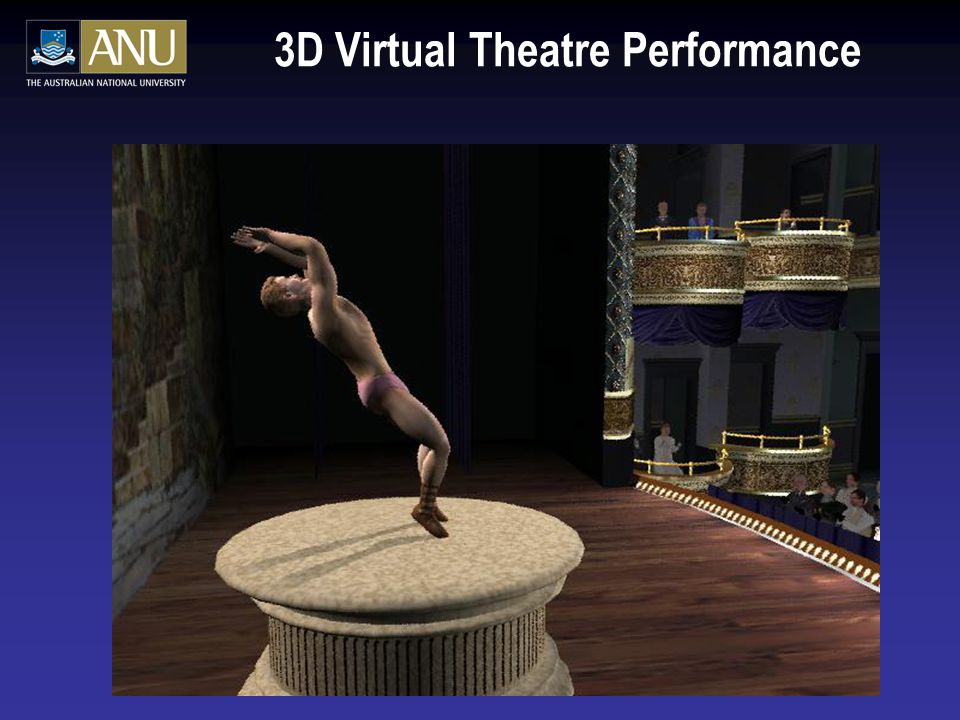 3D Virtual Theatre Performance